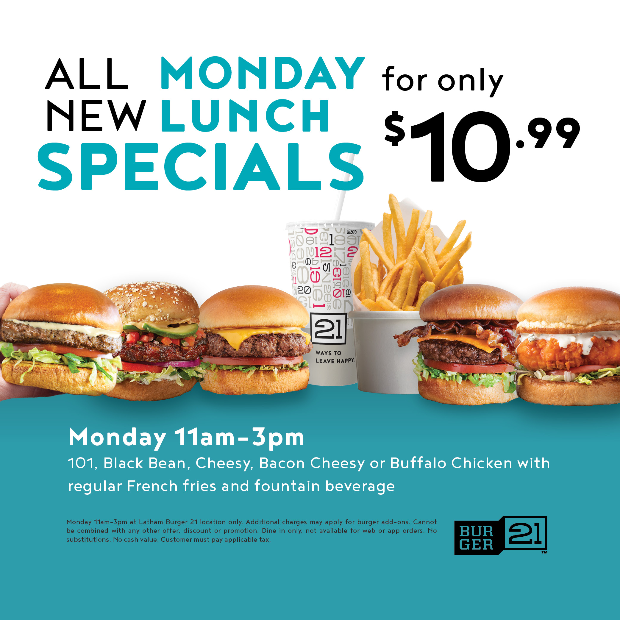Monday Lunch Steals
