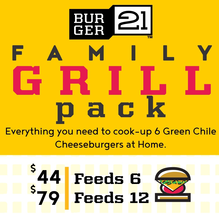 Treat the Family to Family Grill Pack