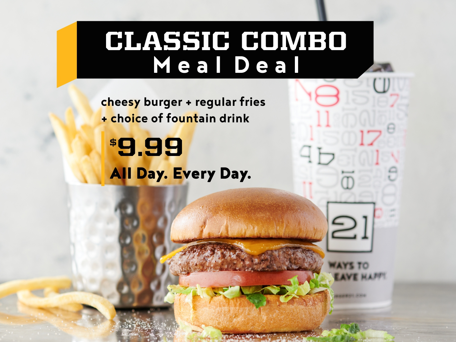 Classic Combo Meal Deal!
