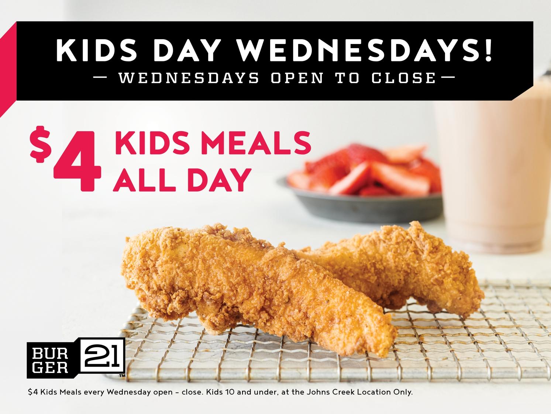 Kid's Day Wednesdays