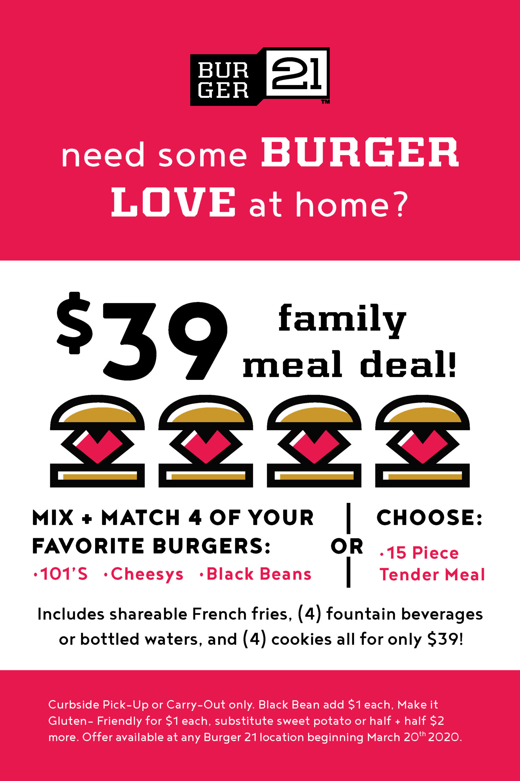 New Family Meal Deals!