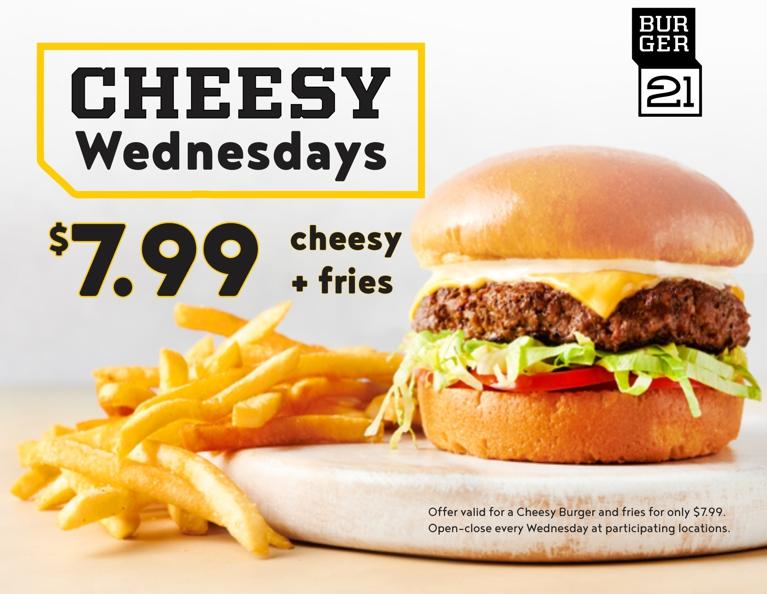 Cheesy Wednesdays